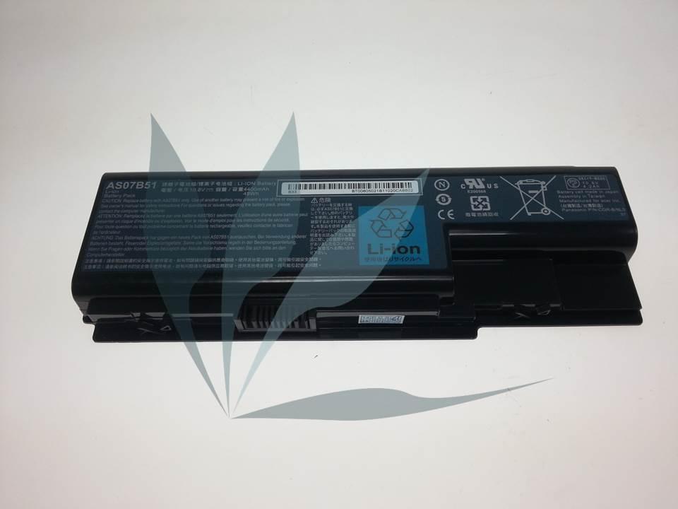 Batterie neuve d'origine constructeur pour Acer Aspire 5935G, LI-ION.6C.4K4mAH