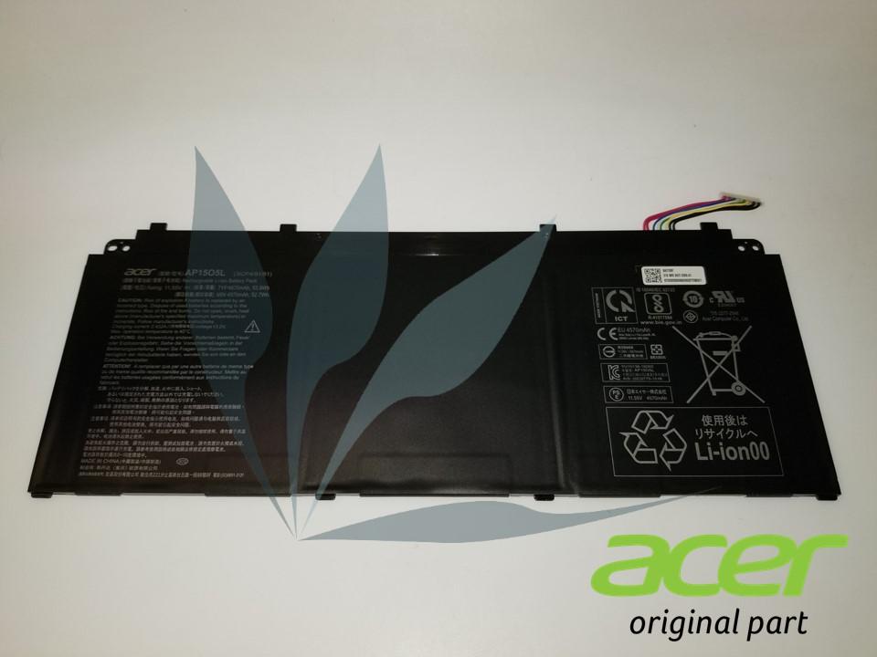 Batterie 3 cellules 4670MAH neuve d'origine Acer pour Acer Spin SP513-53N