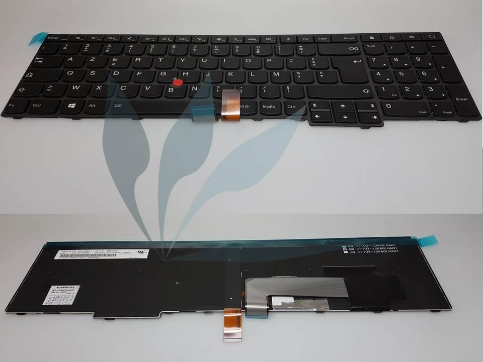 Clavier français rétro-éclairé neuf d'origine Lenovo pour Lenovo Thinkpad W540