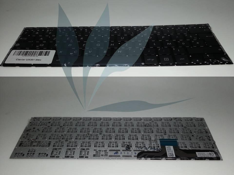 Clavier français bleu pour Asus UX301LA