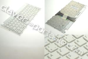 Clavier francais blanc pour Asus EeePC 1015