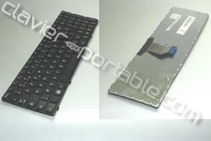 Clavier français noir pour Lenovo G780