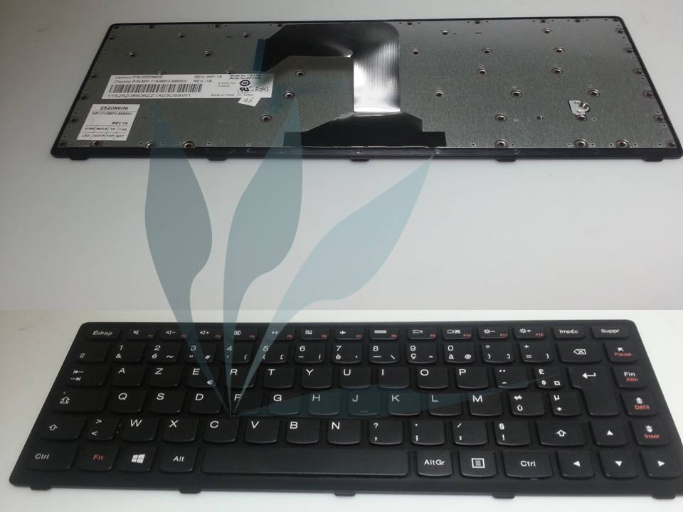 Clavier français pour Lenovo Ideapad S400