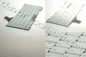Clavier francais Blanc pour Lifebook T4210