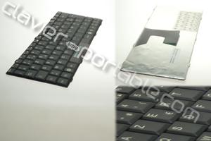 Clavier francais noir pour Esprimo U9200