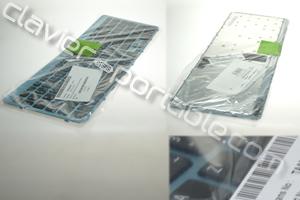 Clavier français touches noire fond bleu pour Acer Aspire V5-571G