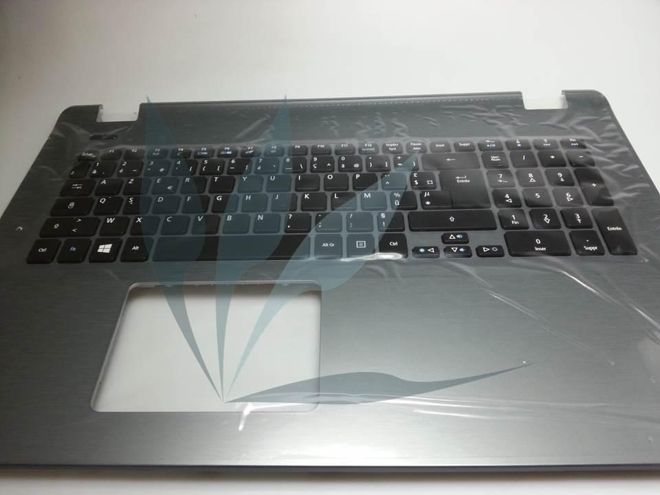 Clavier français avec repose-poignets gris pour Acer Aspire E5-771G