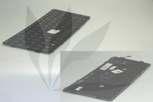 Clavier français noir rétro-éclairé pour HP Elitebook 820G1