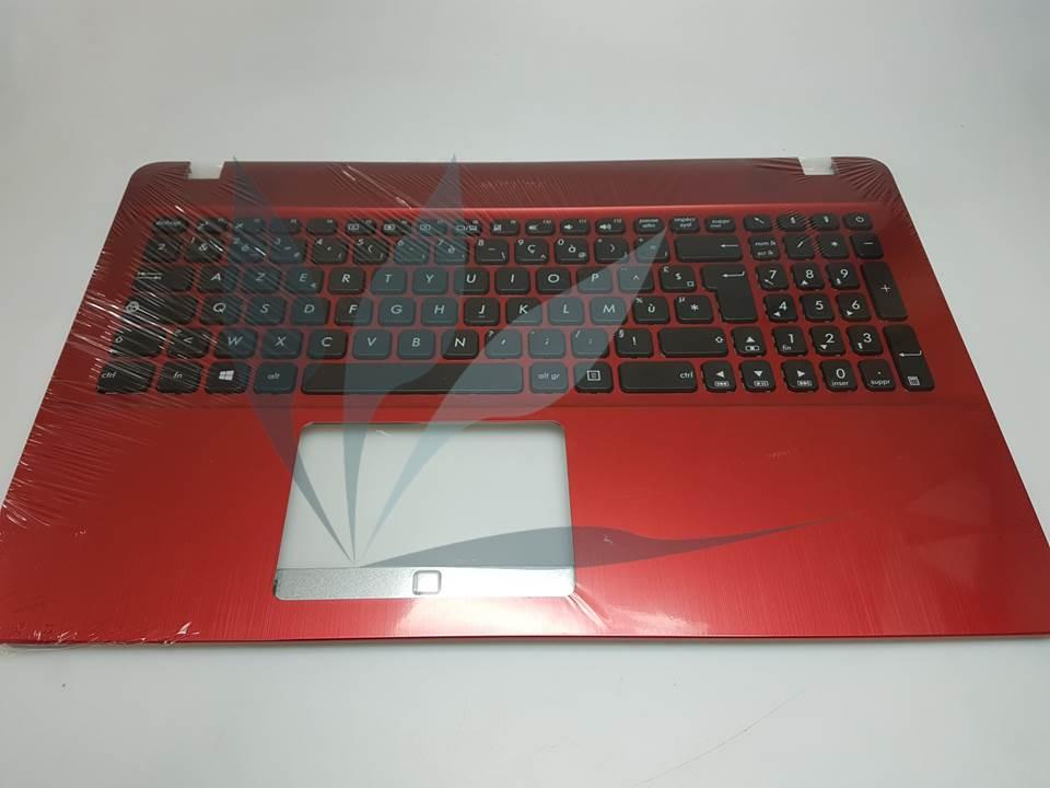 Clavier noir avec repose-poignets rouge pour Asus X541UA