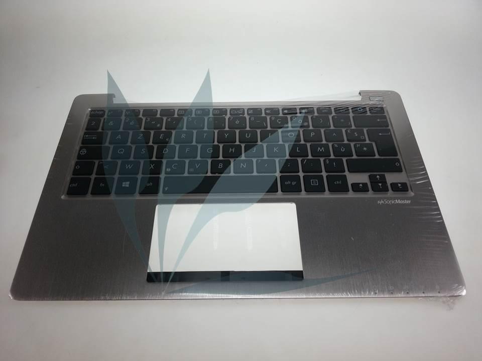 clavier avec repose-poignets argent pour Asus S200Ebis