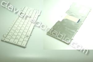 Clavier francais Blanc pour Satellite T130