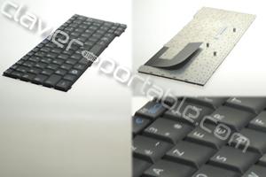 Clavier francais noir pour Samsung N140