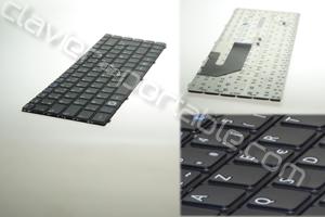 Clavier francais noir pour Samsung X420