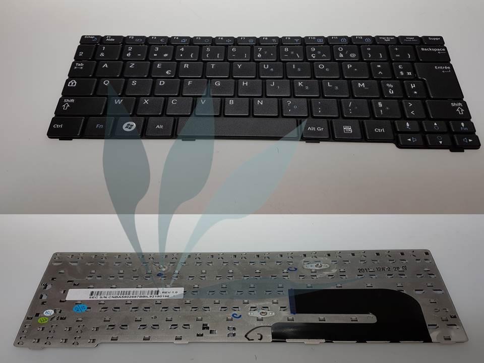 Clavier francais noir pour Samsung N150