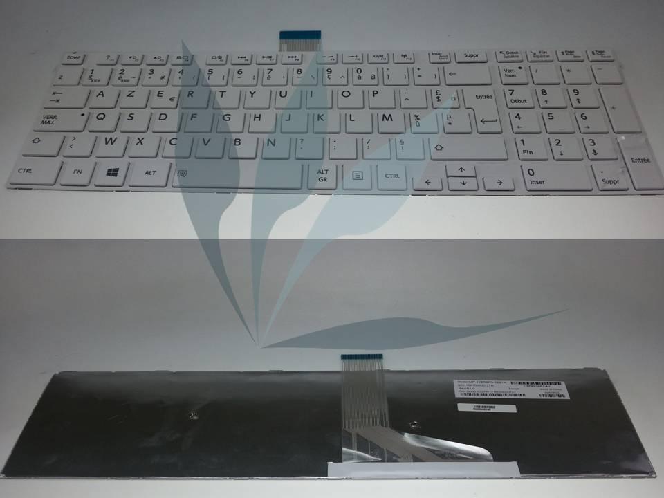 Clavier francais blanc pour Toshiba satellite L50