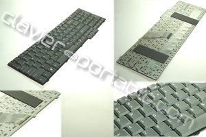 Clavier QWERTY (US/GB) pour Acer Travelmate 6500