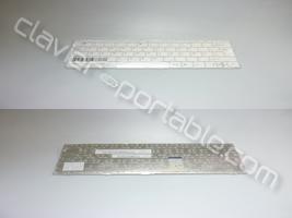 Clavier francais pour Asus EeePC 1001 Blanc