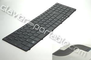 Clavier français noir pour aspire E1-531