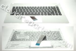 Clavier français blanc pour Asus X401