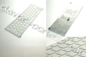 Clavier francais blanc pour asus X43