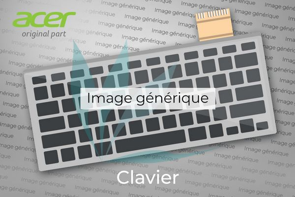 Clavier QWERTY (US/GB) pour Acer Aspire 1350