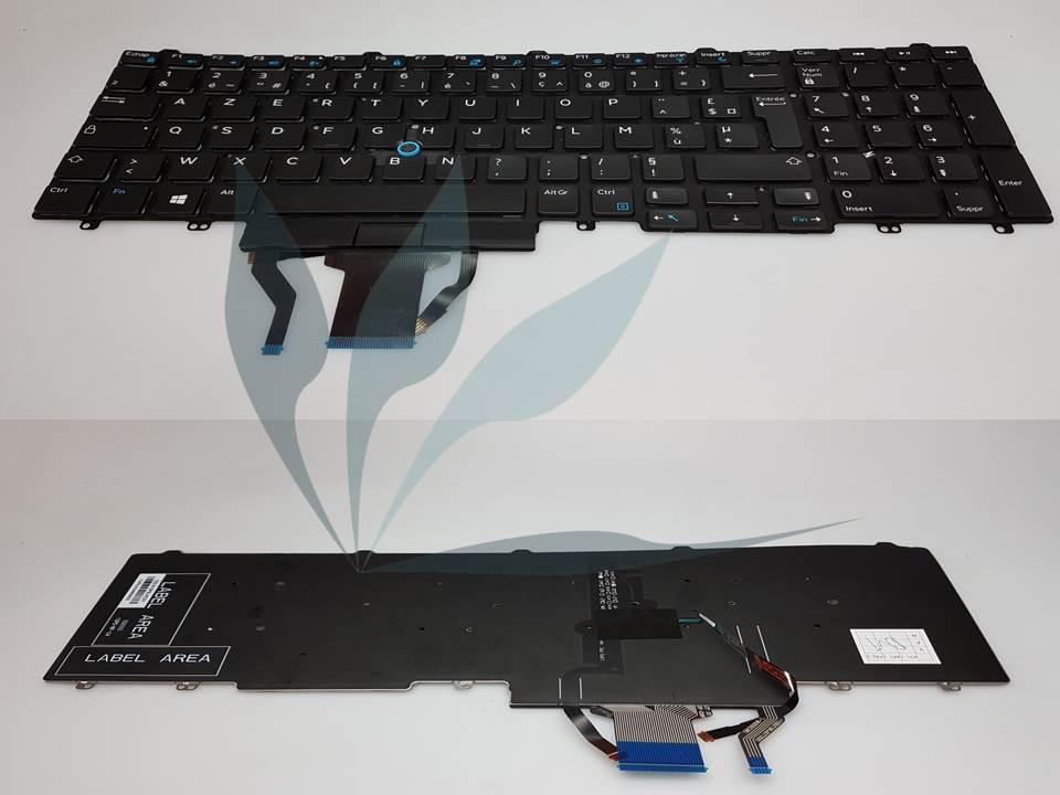 Clavier noir rétro-éclairé neuf pour Dell Latitude E5550