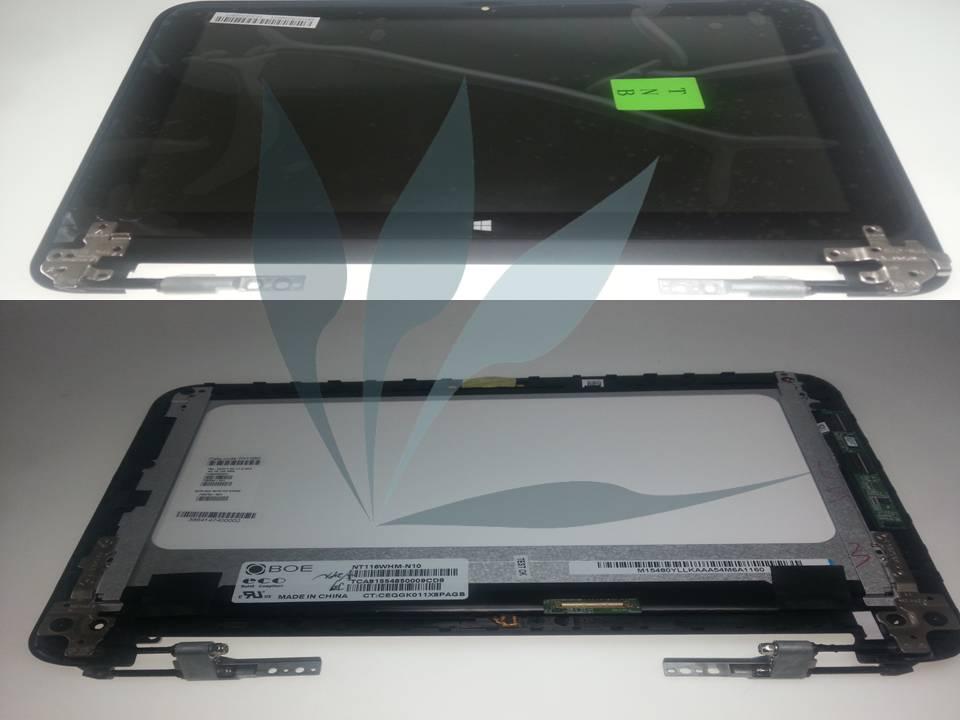 Module écran (dalle + vitre tactile + contour écran + charnières) pour HP  X360, Référence   ECBHPX360310 G1    985b5fef8a0f