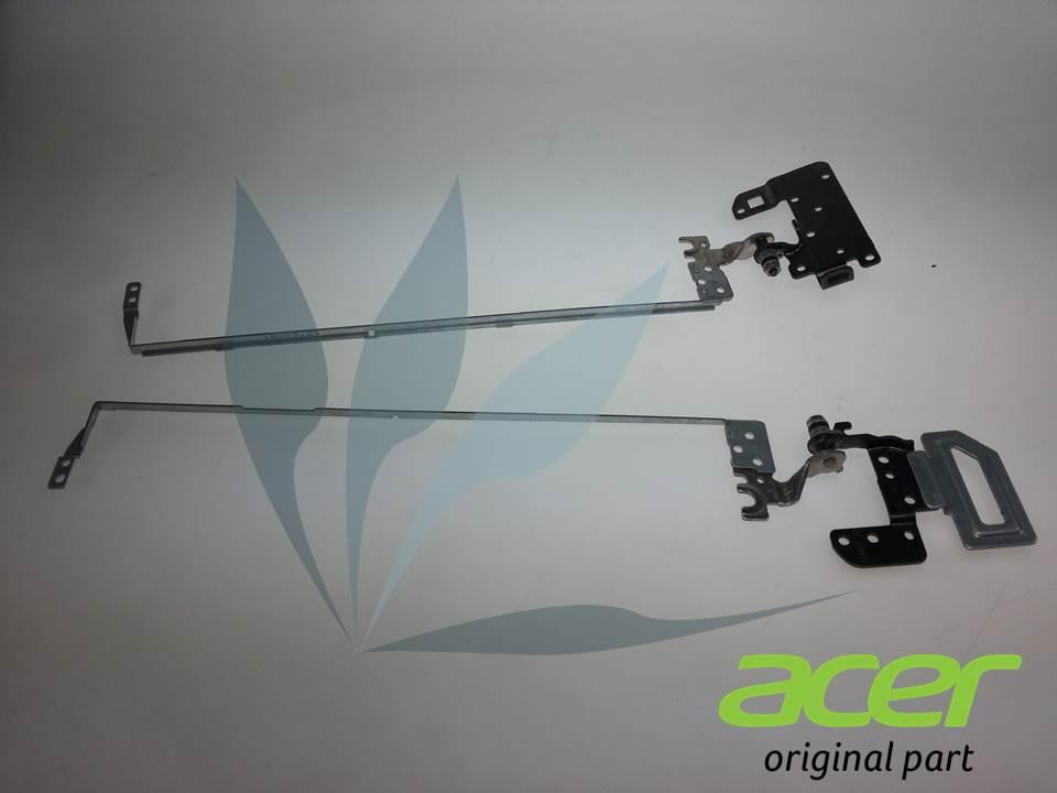 Paire de charnières droite et gauche neuves d'origine Acer pour Acer Aspire V3-572G