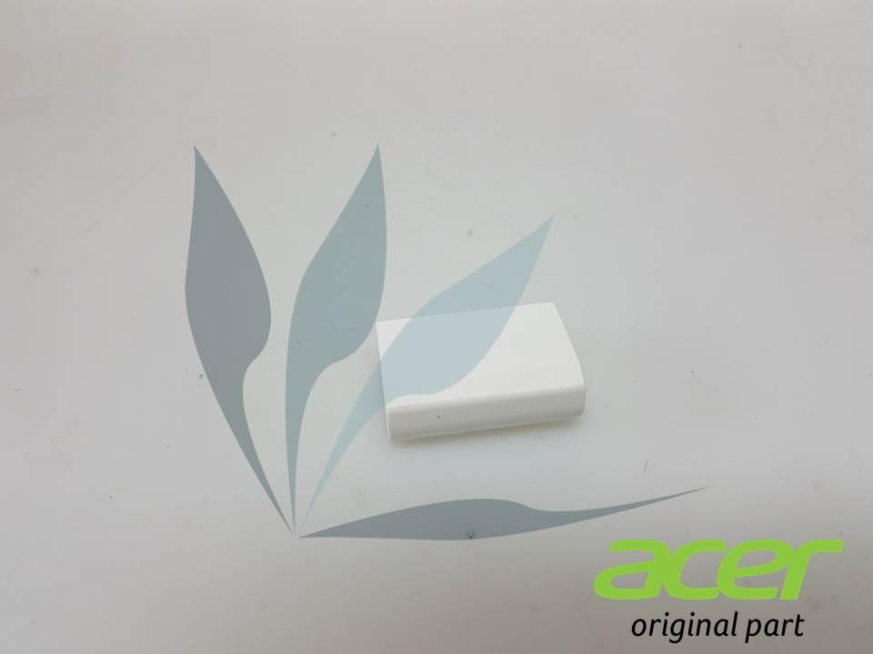 Cache charnière blanc gauche pour Acer Aspire R3-131T