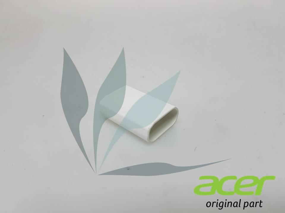 Cache charnière blanc droit pour Acer Aspire R3-131T