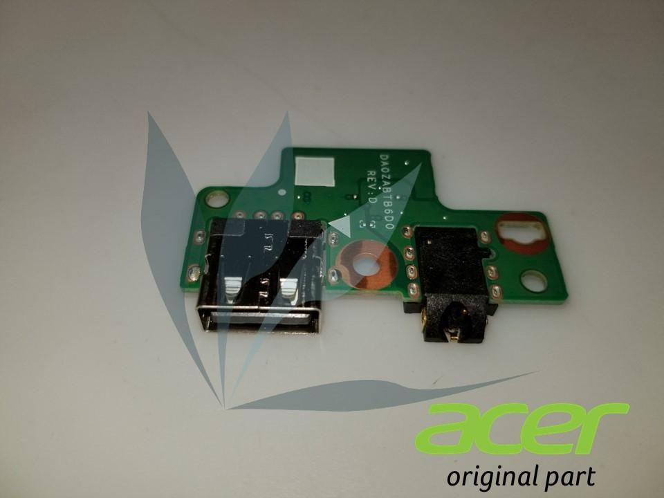 Carte électronique USB et prise jack neuve d'origine Acer pour Acer Aspire E5-575G