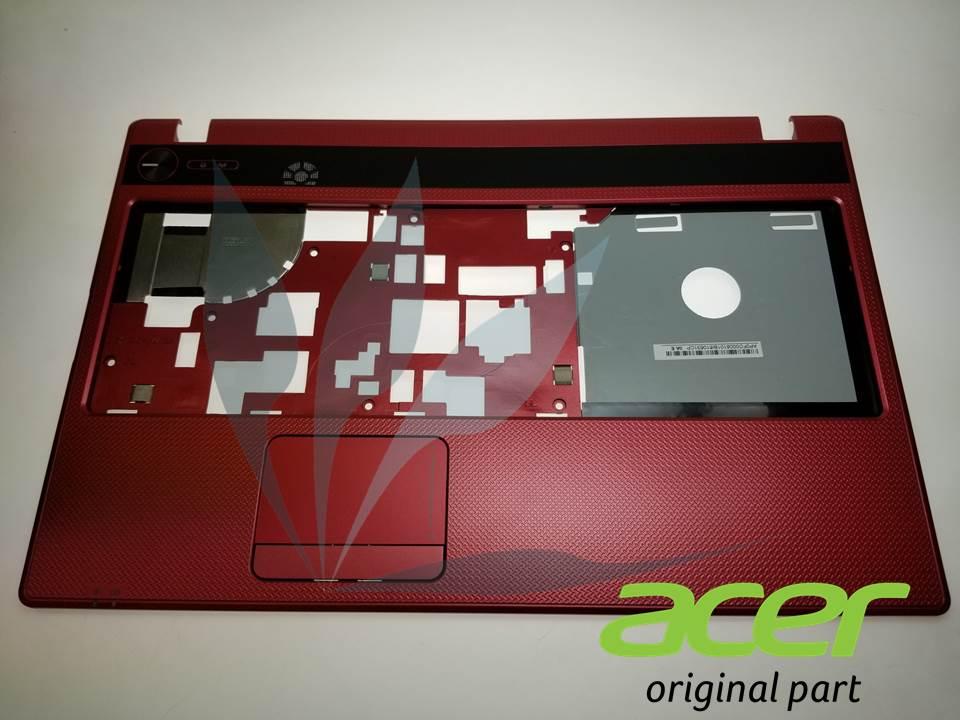Plasturgie repose-poignets rouge avec touchpad neuve d