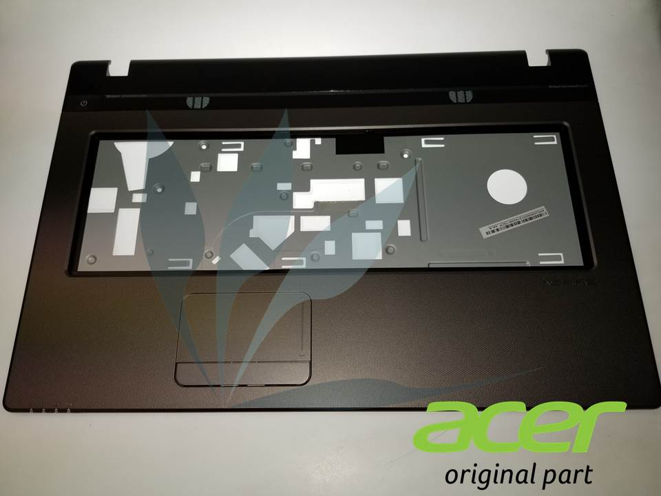 Repose-poignets gris avec touchpad neuf d'origine Acer pour ACER Aspire 7750G