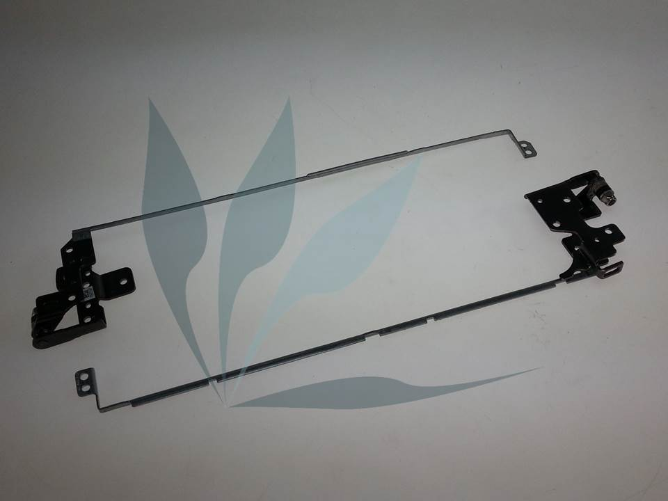 Paire de charnières neuves d'origine HP pour HP Notebook 15-R SERIES (modèle sans vitre tactile)