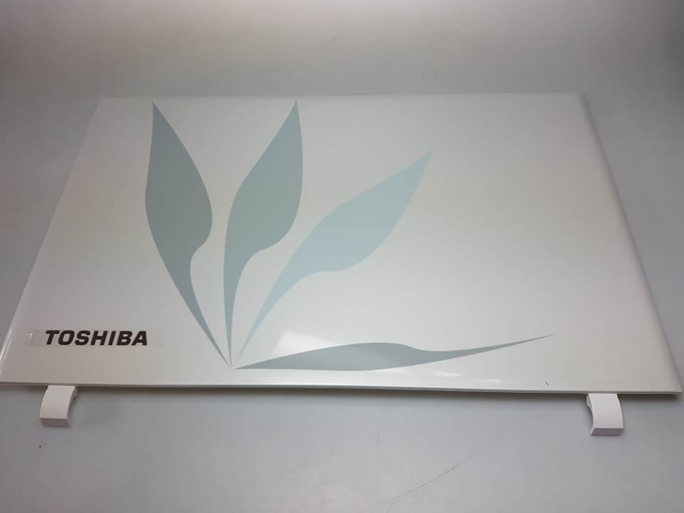 Capot supérieur écran blanc pour Toshiba Satelite L50-C