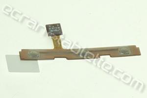 nappe bouton power et boutons de côté pour galaxy TAB1-P7500