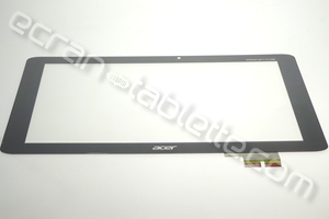Vitre tactile pour Acer Iconia Tab A510 noir