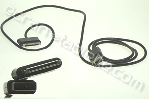 Cable alimentation 30 broches / USB pour Samsung TAB1-P1000