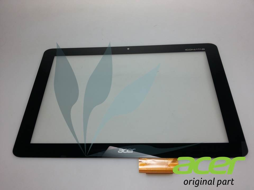 Vitre tactile pour Acer Iconia A200