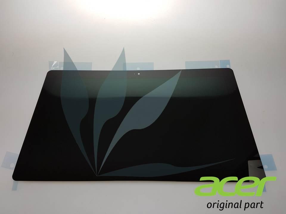 Module écran (dalle + vitre tactile) pour Acer Iconia Tab W700 noir