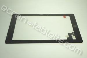 Vitre tactile 9,7 pouces noire  pour IPAD2 WIFI-CEL-A1396