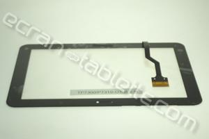 Vitre tactile 8,9 pouces noire  pour Galaxy TAB1-P7320